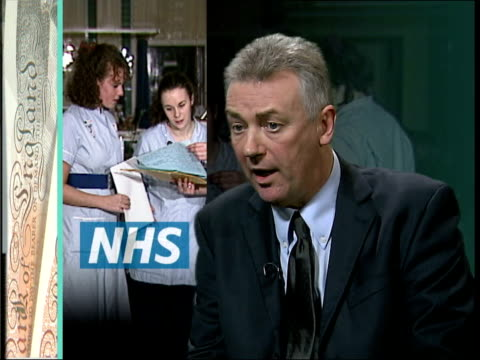 vídeos y material grabado en eventos de stock de new national health service pension plans announced; steve sinnott interview sot - teachers would oppose any change to their pensions that would take... - new age