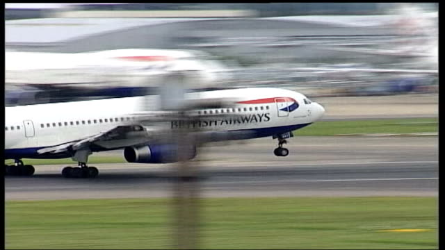 New 'Nectar' loyalty card introduced ITN British Airways plane taking off