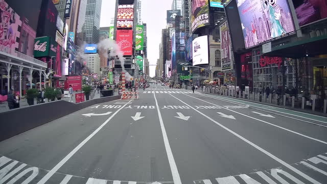 new normal life in new york city amid the coronavirus pandemic - disney stock videos & royalty-free footage