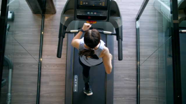 new normal of gym and treadmill - treadmill stock videos & royalty-free footage