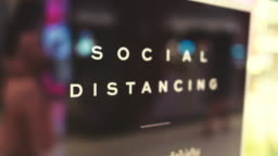 New Normal : Social Distance
