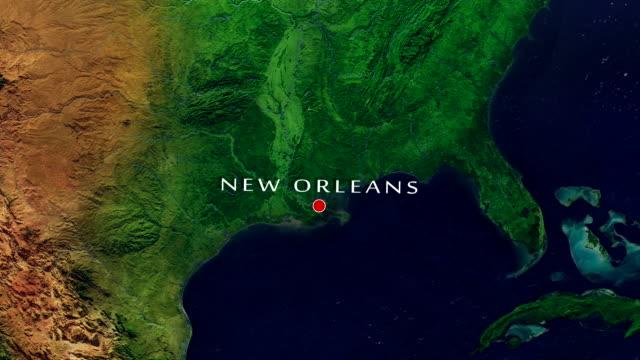 New Orleans 4K Zoom In