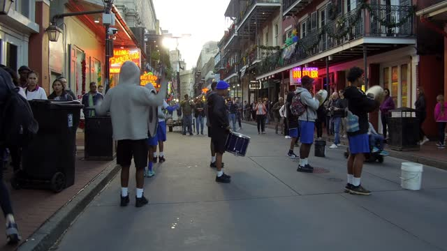 """new orleans is a louisiana city on the mississippi river, near the gulf of mexico. nicknamed the """"big easy,"""" it's known for its round-the-clock... - nicolas lisperguier stock videos & royalty-free footage"""