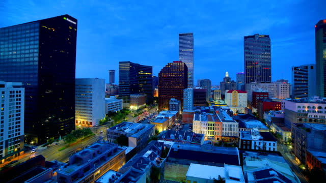 new orleans, la sonnenaufgang - new orleans stock-videos und b-roll-filmmaterial
