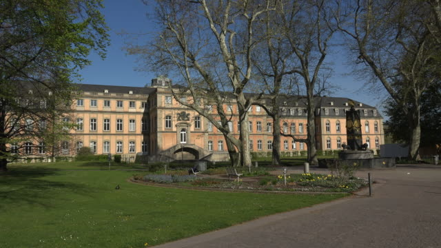 new palace, stuttgart, baden-wuerttemberg, germany - palace stock videos & royalty-free footage