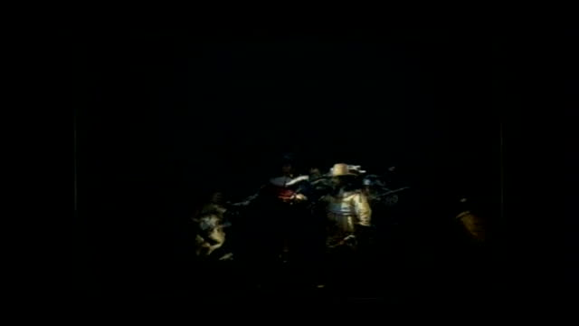 'the night watch' ''nightwatching' an installation by peter greenaway offering a theatrical perception of rembrandt's 'the night watch' dissolve to - peter greenaway stock videos & royalty-free footage