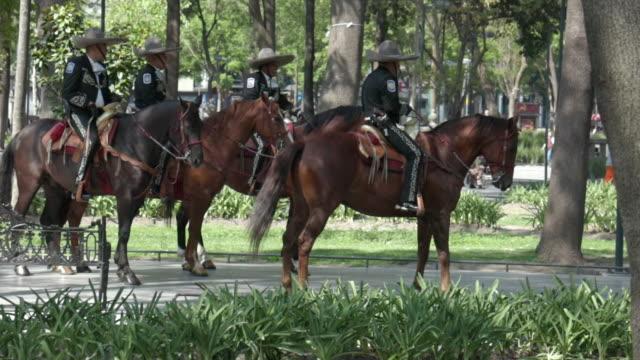 New Policia Montada in Mexico City