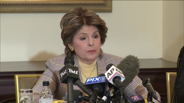 new r. kelly accuser claims singer had sex with her when she was underage. attorney gloria allread held press conference in midtown manhattan with... - r. kelly stock videos & royalty-free footage