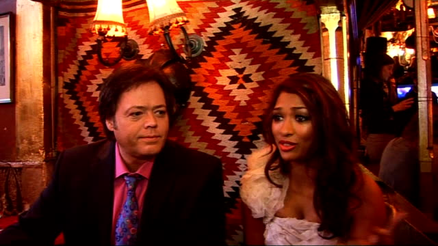 new reality show 'pop star to opera star': interviews with hosts and participants; jimmy osmond and vanessa white interview sot - on enjoying the... - the osmonds stock videos & royalty-free footage