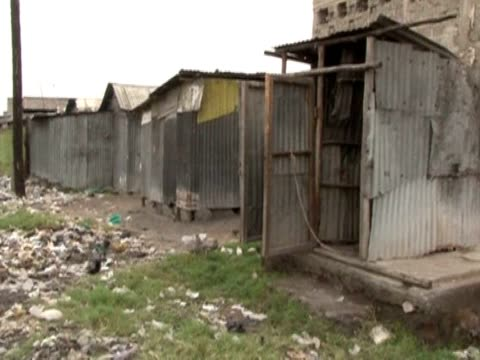 new report by amnesty international reveals women in the slums of kenya's biggest city are too scared to go to the toilet after dark. nairobi, kenya. - biggest stock videos & royalty-free footage