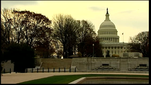 new republican majority in the house of representatives usa washington dc capitol hill ext **politician reading out the us constitution inside us... - united states congress点の映像素材/bロール