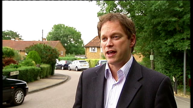 new 'right to build' policy introduced by governmenet grant shapps mp interview sot - grant shapps stock videos and b-roll footage