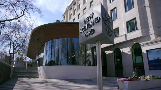 New Scotland Yard Revolving Sign Curtis Green Building
