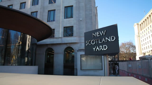new scotland yard - police station stock videos & royalty-free footage