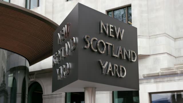 new scotland yard - 警視庁点の映像素材/bロール