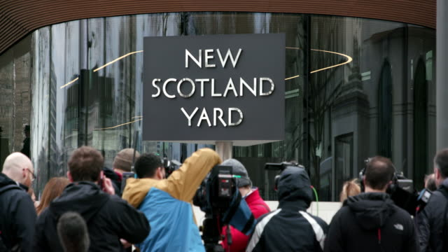 new scotland yard - press room stock videos & royalty-free footage
