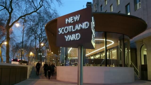 new scotland yard - government building stock videos and b-roll footage