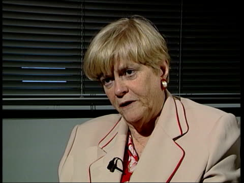 new shadow cabinet named; int ann widdecombe mp interviewed sot - grow up the lot of you, i'd like to bang all your heads together/ probably will be... - ann widdecombe stock videos & royalty-free footage