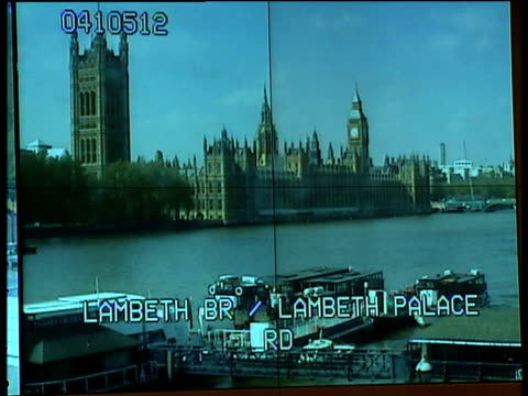 new special operations room opened in lambeth general view of special operations room / close up of cctv screens displaying images of houses of... - lambeth stock videos & royalty-free footage