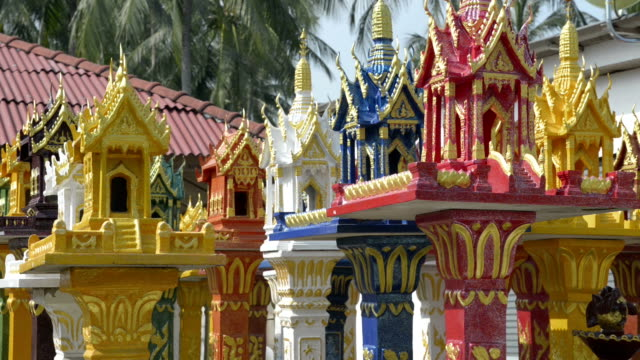 new spirit house for sale - ko samui stock videos and b-roll footage