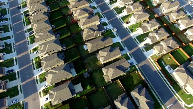 Neue Vorstadt außerhalb von Austin Texas in der Nähe von Round Rock Antenne Haus nach Haus nach Haus