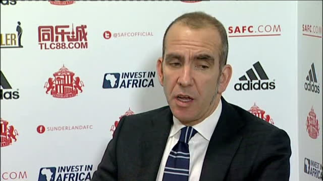 stockvideo's en b-roll-footage met new sunderland manager paolo di canio refuses to answer fascism questions england tyne and wear sunderland stadium of light int paolo di canio... - tyne and wear
