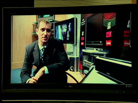 DVD players Paul O'Donovan interview SOT high definition is the next logical step in TV broadcasting DVD playback and games machines as well/...