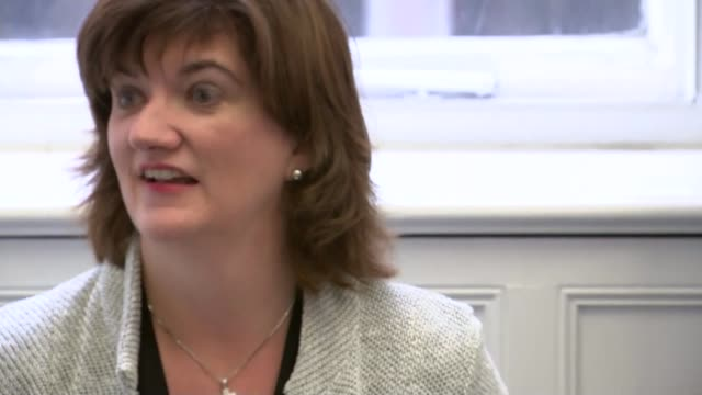 new tougher primary school tests for 7 year olds; nicky morgan mp putting paperclip on notes before speech nicky morgan mp speech sot - we will be... - new age stock videos & royalty-free footage