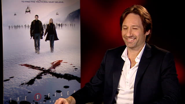 New 'X Files' film premiered David Duchovny interview SOT On his own beliefs and scepticism / I always thought that there was plenty mystery in the...