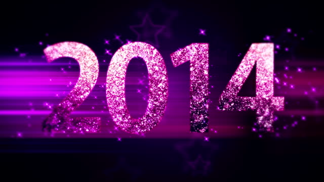 new year 2013 loop with stars - 2013 stock videos & royalty-free footage