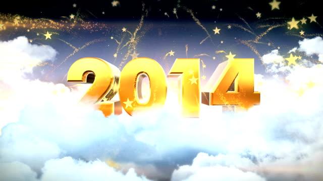 新年 2014 年 - ライトウェイト級点の映像素材/bロール