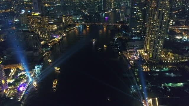 Neue Jahr 2018 feiern in Bangkok, Thailand