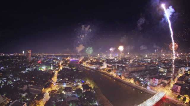 new year festival in chiang mai thailand. - luck stock videos and b-roll footage