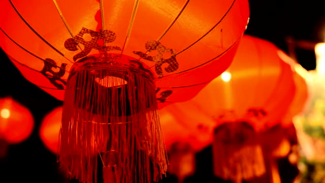 new year festival - chinese lantern festival stock videos and b-roll footage