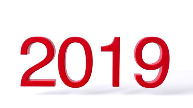new year - 2019 stock videos & royalty-free footage