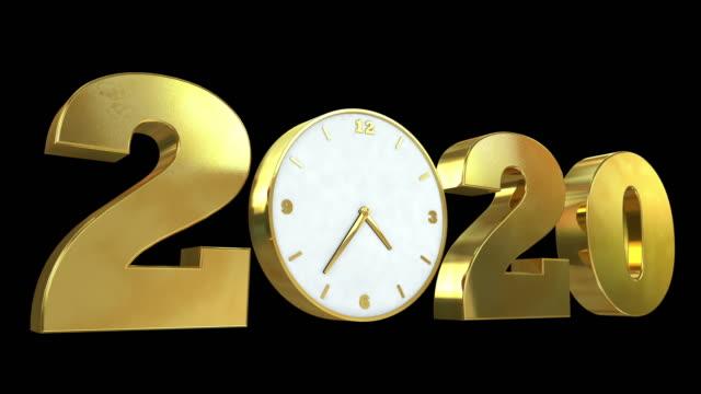vidéos et rushes de nouvelle année - grande aiguille