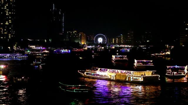new year's eve night bangkok, thailand - 2016 stock videos and b-roll footage