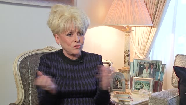 new year's honours list 2016: barbara windsor interview; windsor interview sot - on being an ambassador for age uk - new age stock videos & royalty-free footage