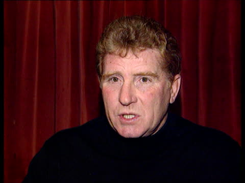 new year's honours list int alan ball mbe interview sot victory was a team effort and it has taken a long time for it to be recognised henry cooper... - 光栄点の映像素材/bロール