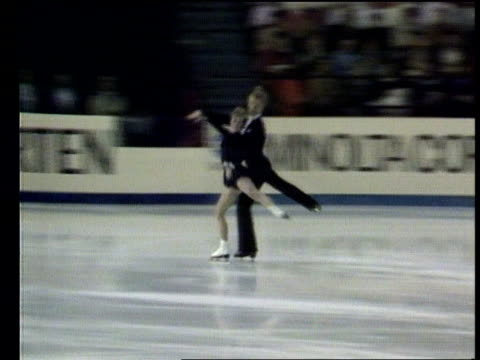 new year's honours list int jane torville and christopher dean awarded obe in honours list skating pan - 光栄点の映像素材/bロール