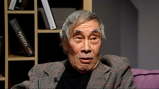 New Year's Honours List Recipients announced Interview with actor Burt Kwouk ENGLAND London INT Burt Kwouk interview SOT On when he found out he had...