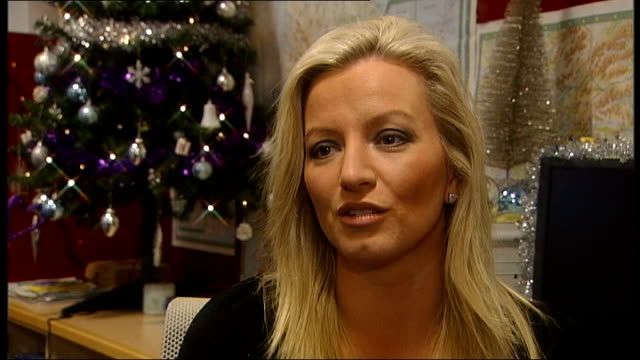 new year's honours list scotland glasgow int michelle mone obe interview sot will help the business - underwear stock videos & royalty-free footage