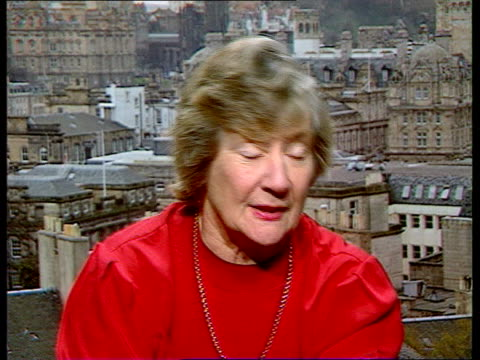 cms baroness shirley williams intvw sof is pleased because she hopes it will help her to get back into british politics unknown location cms jimmy... - david frost broadcaster stock videos & royalty-free footage