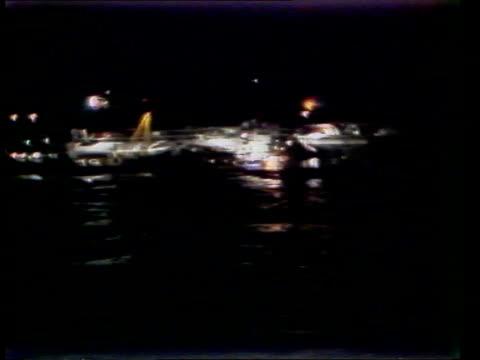 stockvideo's en b-roll-footage met zeebrugge ferry disaster heroes honoured transport / new years honours list zeebrugge ferry disaster heroes honoured inj3991/7387 belgium zeebrugge... - ramp veerboot zeebrugge 1987