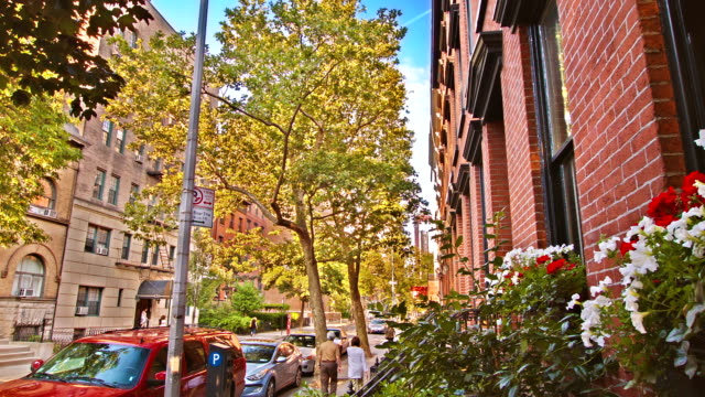 new york. apartment building - greenwich village stock videos & royalty-free footage