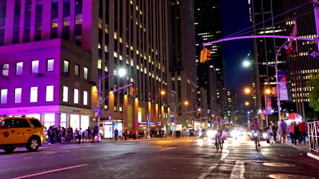 New York avenue nachts