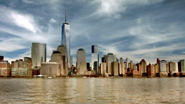 Neu York-Gebäuden und den Freiheit Turm