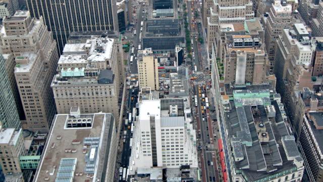 stockvideo's en b-roll-footage met new york gebouwen - bovenste deel