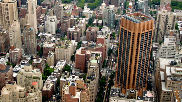 new york buildings - manhattan new york city stock videos & royalty-free footage