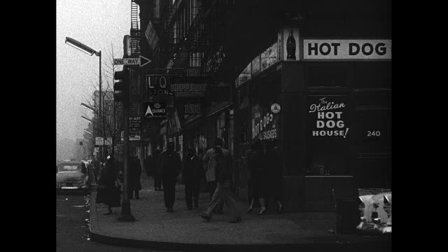 New York City 1930s Urban Street Corner